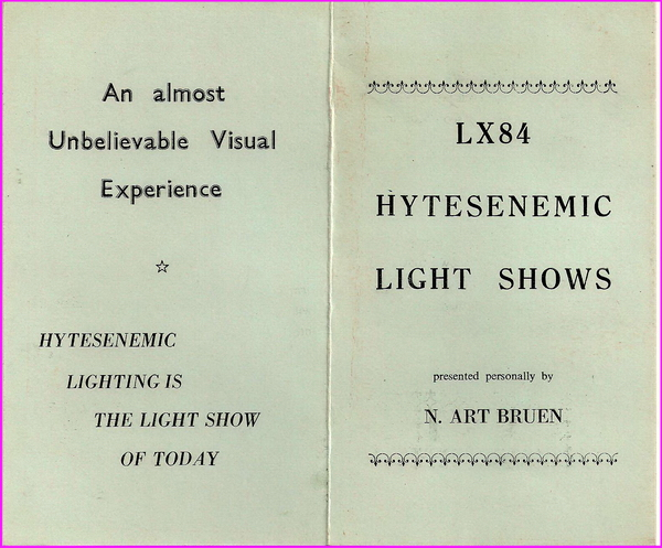 LX84 Hytesenemic Light Shows