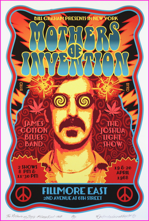 1968 Mothers of Invention at Fillmore East